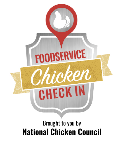Foodservice Chicken Check In Logo NCC Lockup